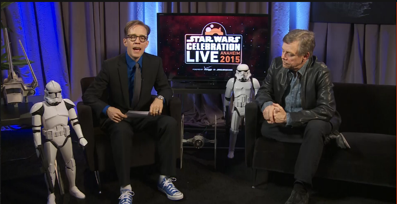 Star Wars Mark Hamill Interview