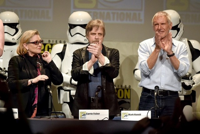 News update: Interviews with the Star Wars cast!
