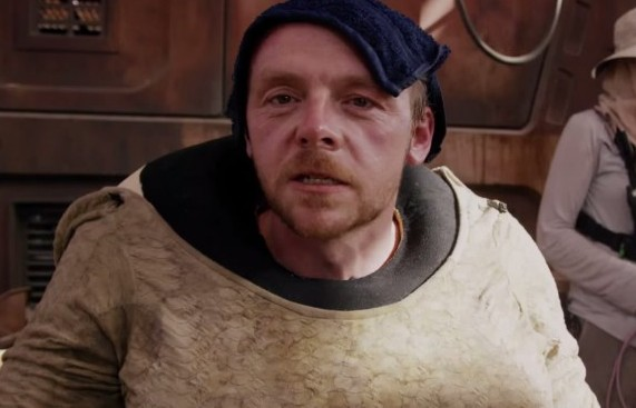 Interview with Simon Pegg about The Force Awakens