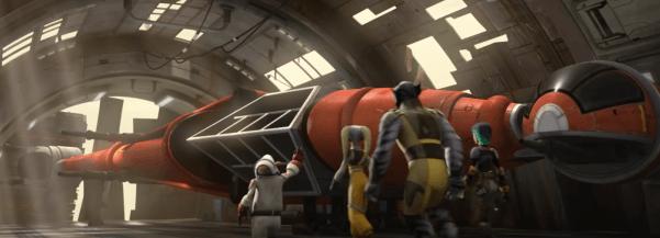 Rebel B-Wing fighter