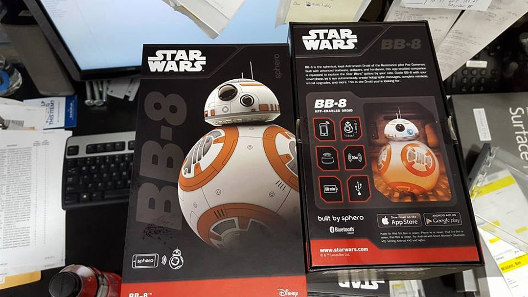 Could this BB-8 Sphero toy be a hot new Christmas gift?