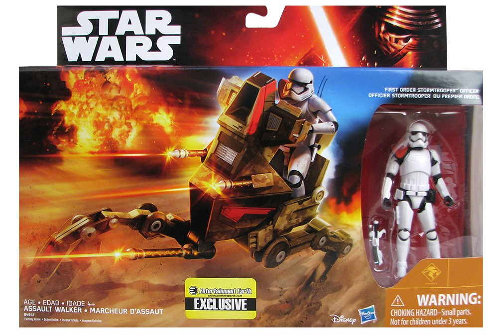 First Order Stormtrooper Desert Assault Walker Star Wars The Force Awakens