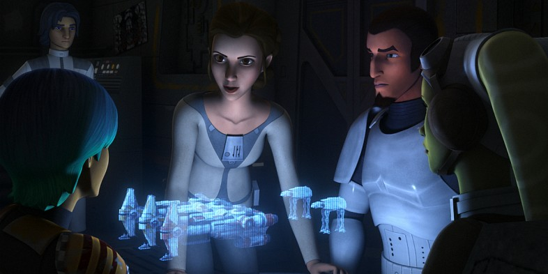 Confirmed! Princess Leia is going to be in Star Wars Rebels!