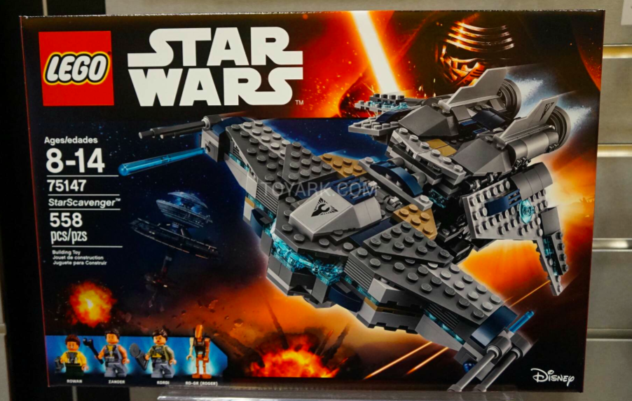 New Lego sets for Star Wars Rebels and The Force Awakens!