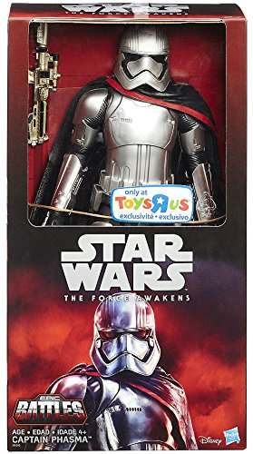"An exclusive Force Awakens 12"" Captain Phasma action figure from Toys R Us is available on Amazon"
