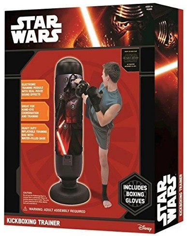 Force Awakens Kickboxing Training Station available on Amazon.com