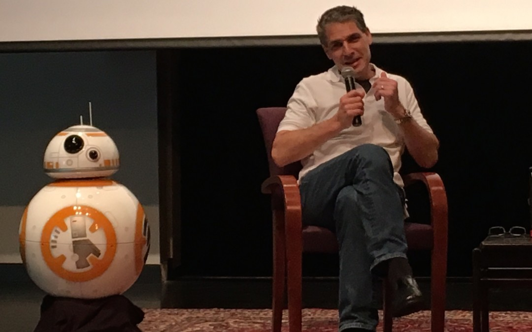 Exclusive: How the Sphero BB-8 toy helped inspire the movie BB-8 robot!