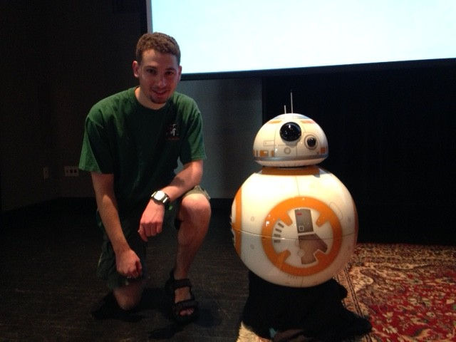 Ben Fields and BB-8