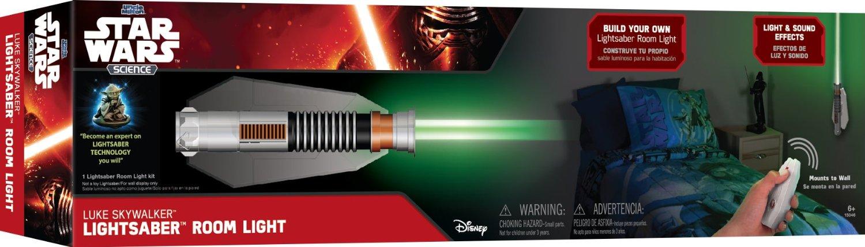 New Force Awakens Lightsaber Room Lights Rundown