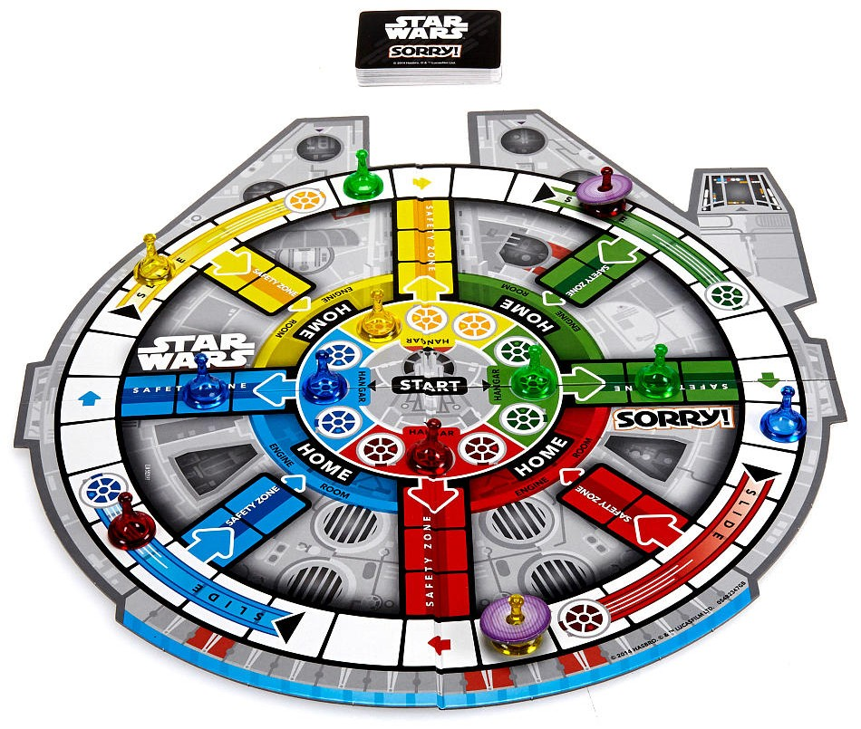 Star Wars Toy Game : New exclusive star wars quot sorry board game available on