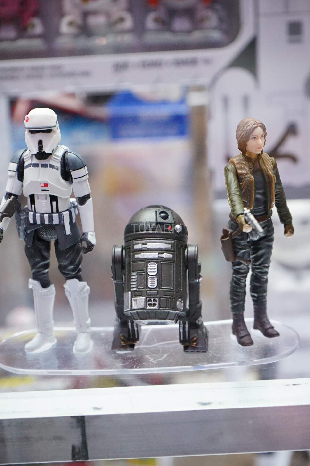 Star Wars Toys Hasbro : Comic con display shows off brand new quot action figures