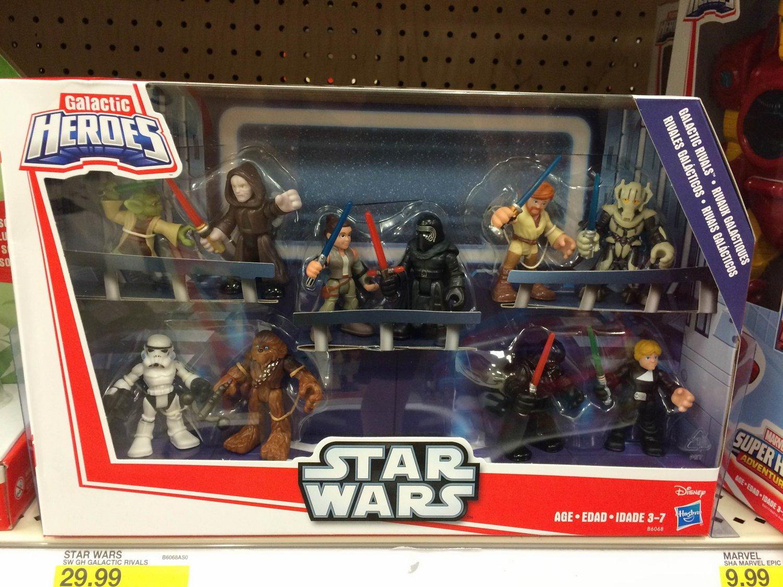 General grievous Playskool Star Wars Galactic Heroes 2.5/'/' Action Figures Toys