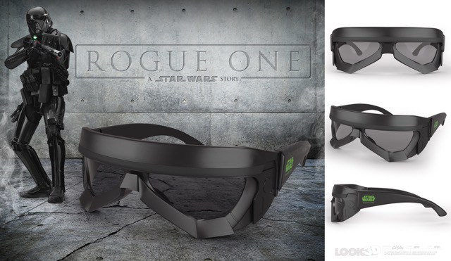 Rogue One Deathtrooper 3D glasses