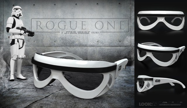 Rogue One Stormtrooper 3D glasses