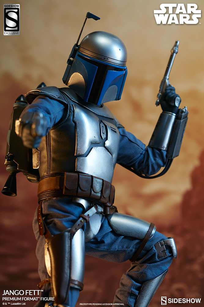new jango fett premium format figure available for pre. Black Bedroom Furniture Sets. Home Design Ideas