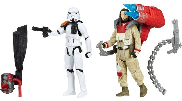 "3.75"" Rogue One Baze Malbus vs. Stormtrooper Figure 2-Pack 2"