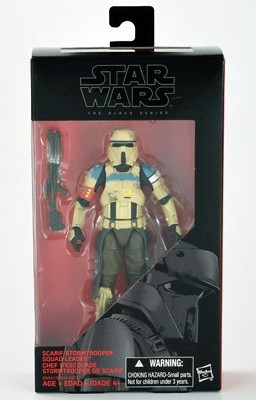 "6"" Black Series Rogue One Scarif Shoretrooper Squad Leader Figure"