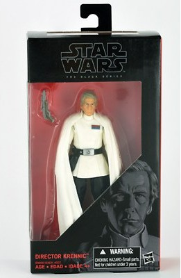 "6"" Black Series Rogue One Director Krennic Figure"