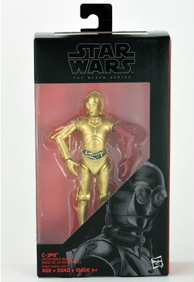 "6"" Black Series C-3PO (with Red Arm) Figure"