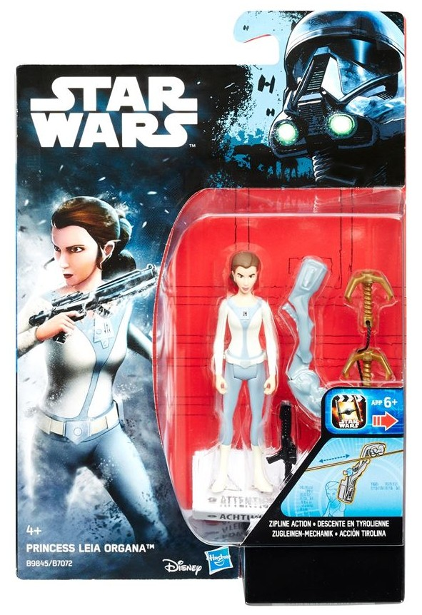 "3.75"" Star Wars Rebels Princess Leia Organa Figure"