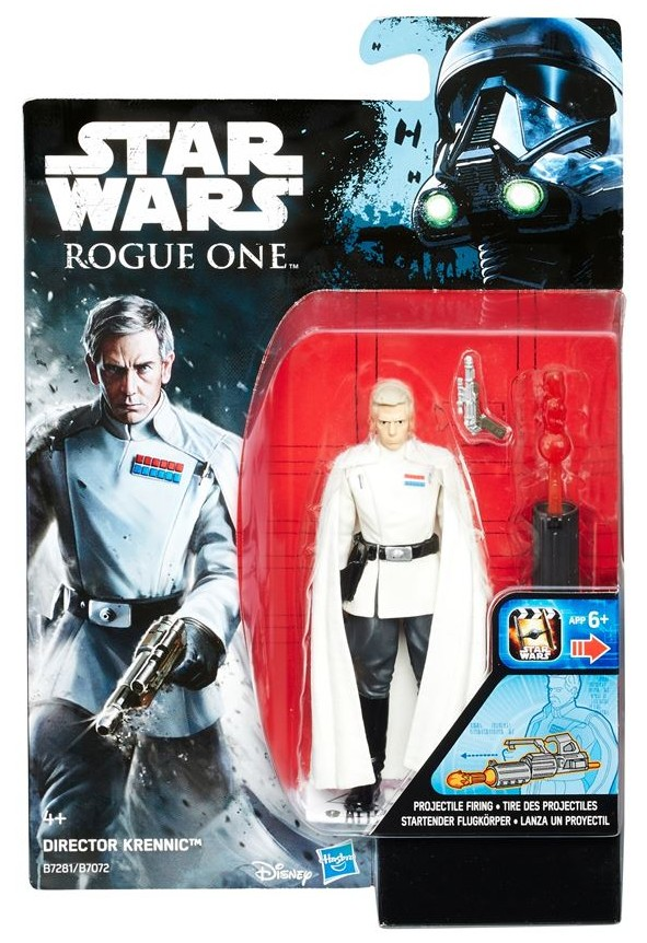 "3.75"" Rogue One Director Krennic Figure"
