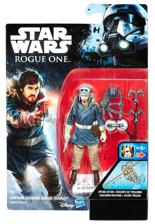 "3.75"" Rogue One Captain Cassian Andor Figure"