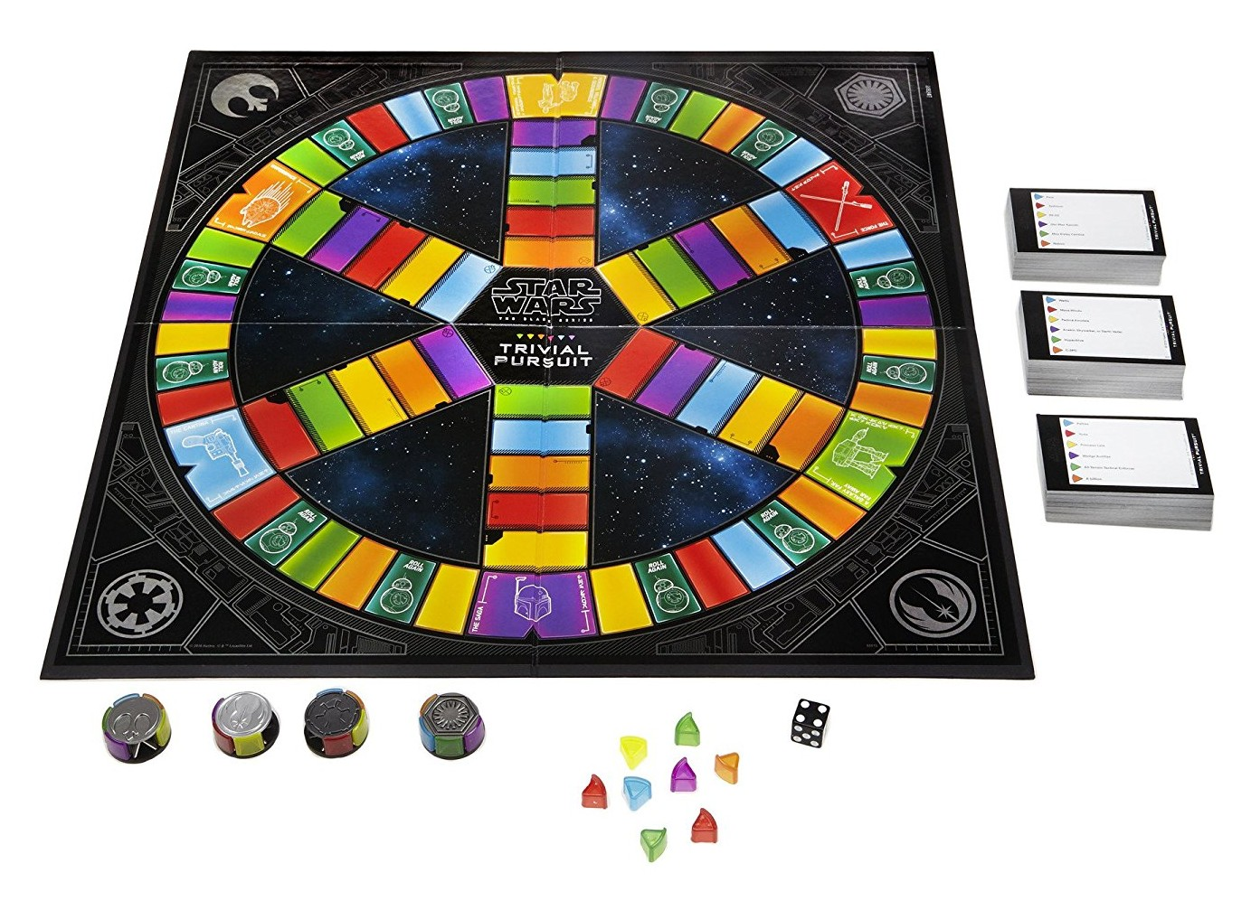 star wars trivial pursuit instructions