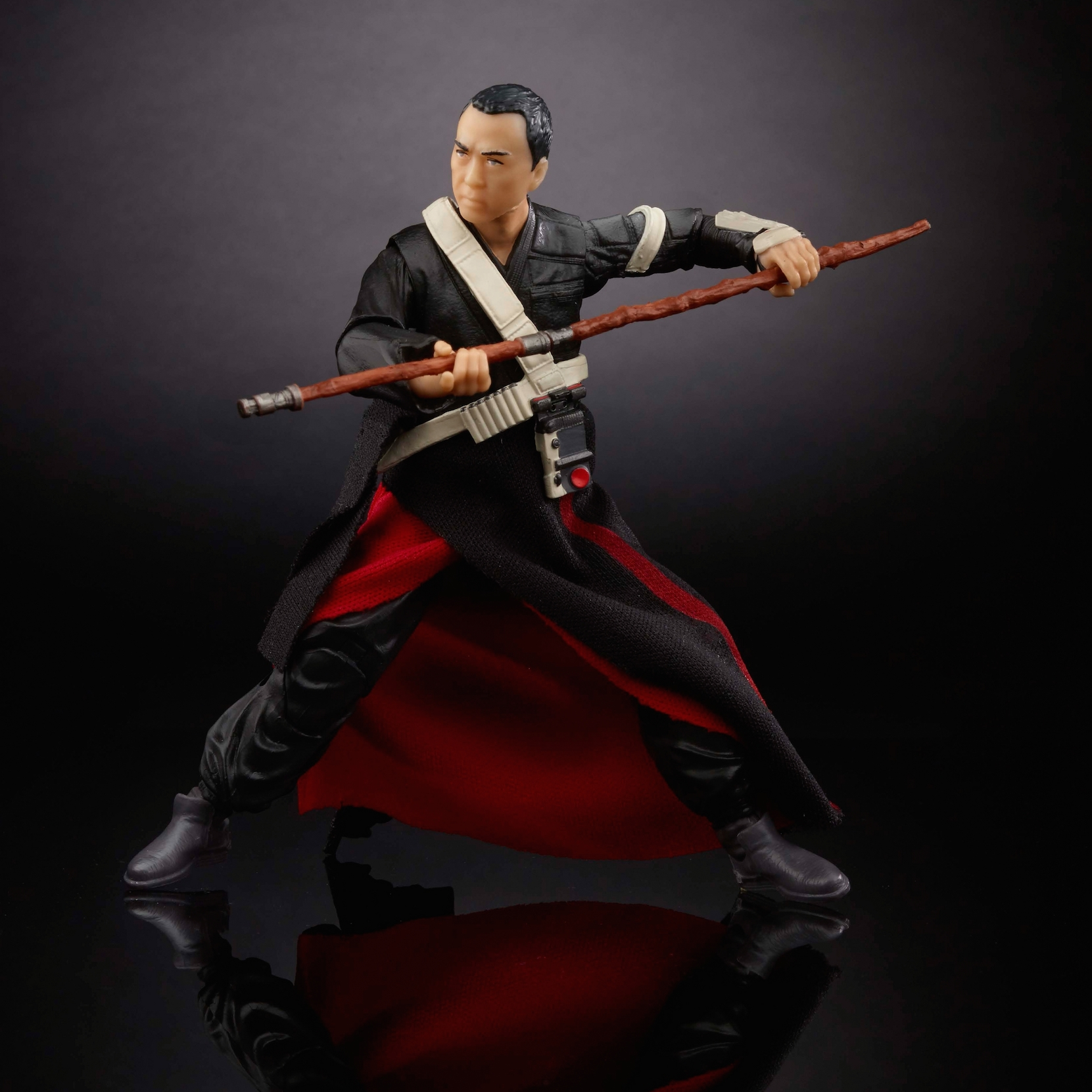 "Rogue One 6"" Black Series Chirrut Îmwe Action Figure"