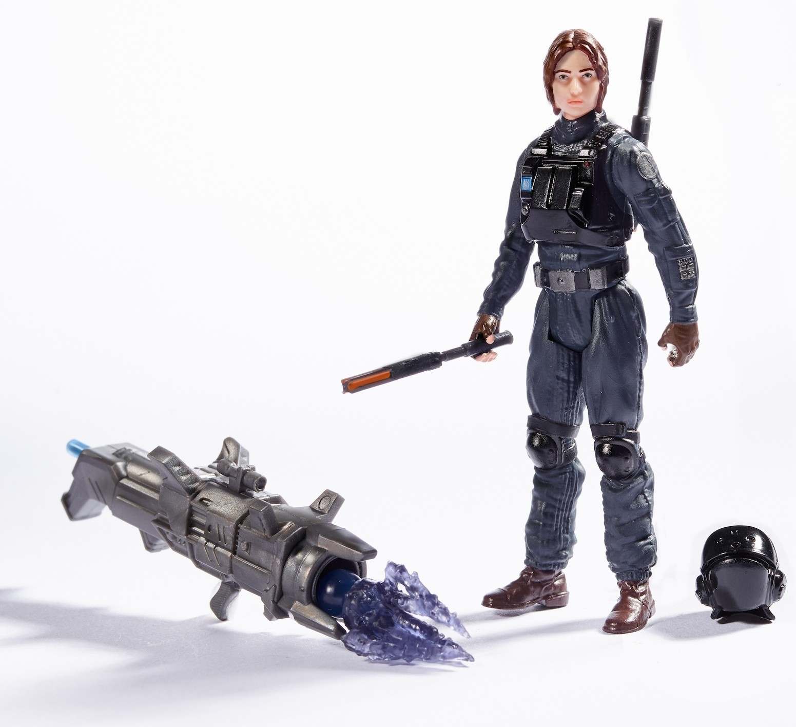 "Rogue One Jyn Erso (In Imperial Ground Crew disguise) 3.75"" Action Figure"