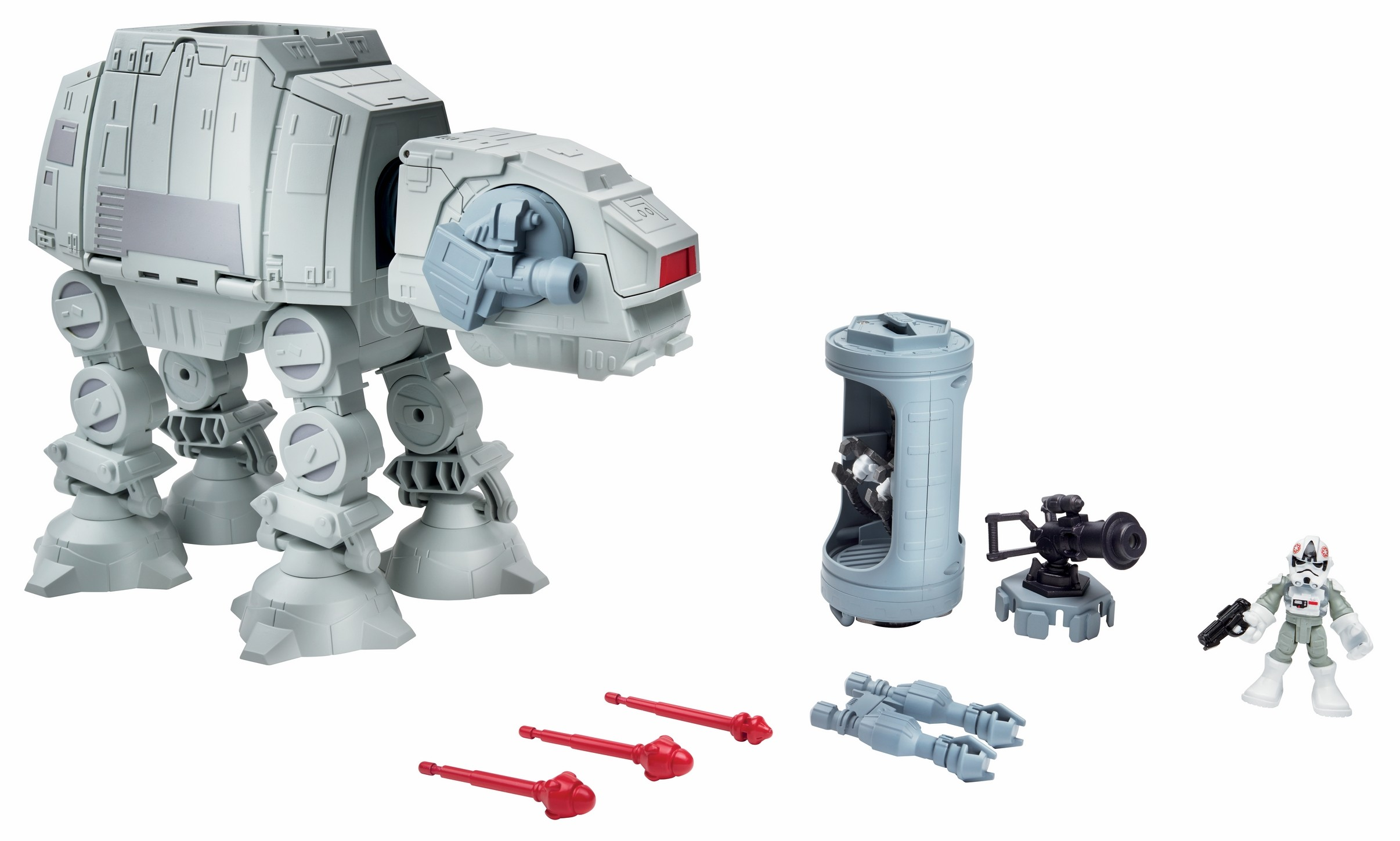 The Empire Strikes Back PlaySkool Galactic Heroes Imperial AT-AT Walker Set