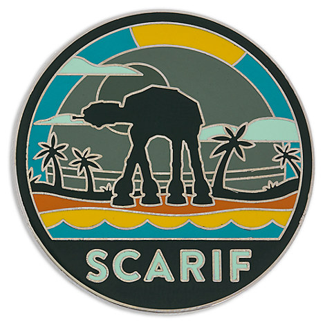 New Rogue One Scarif Pin Available On Disneystore Com