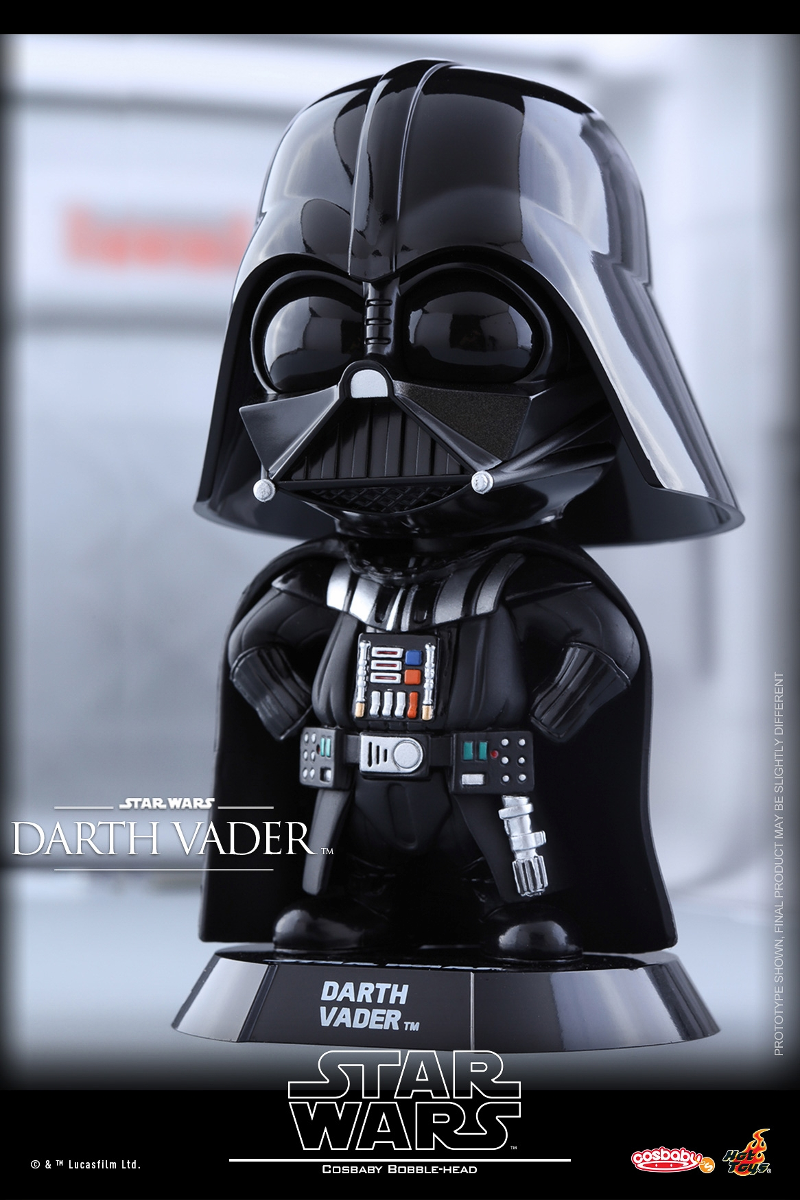 Two New Darth Vader Cosbaby Bobble Head Toys From Hot Toys
