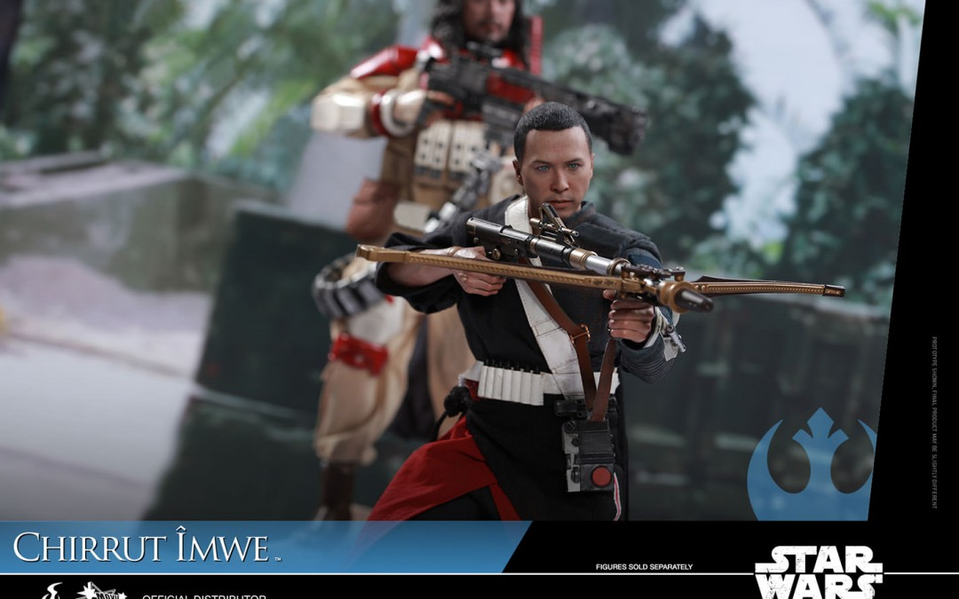 New Rogue One 1/6th scale Chirrut Îmwe Figure from Hot Toys available for pre-order, price revealed