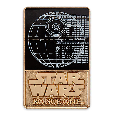 New Rogue One Death Star pin now available on DisneyStore.com