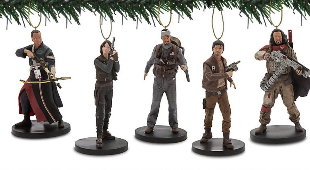 New Rogue One Themed 10 Piece Ornament Set available on Amazon.com