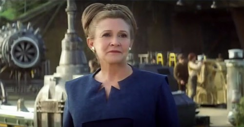 Carrie Fisher rumored to have a larger role in episode VIII