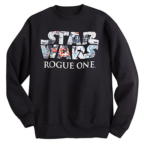 new list buying new temperament shoes New Rogue One Men's Sweatshirt is now available on DisneyStore.com
