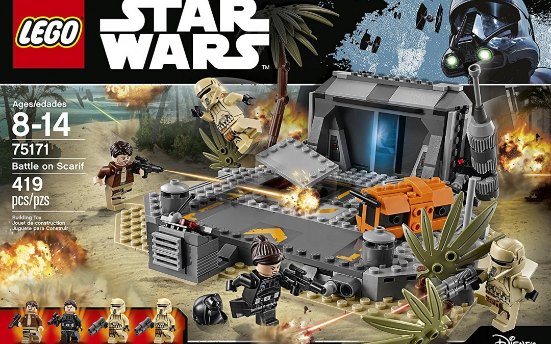 new rogue one battle on scarif lego set available on. Black Bedroom Furniture Sets. Home Design Ideas