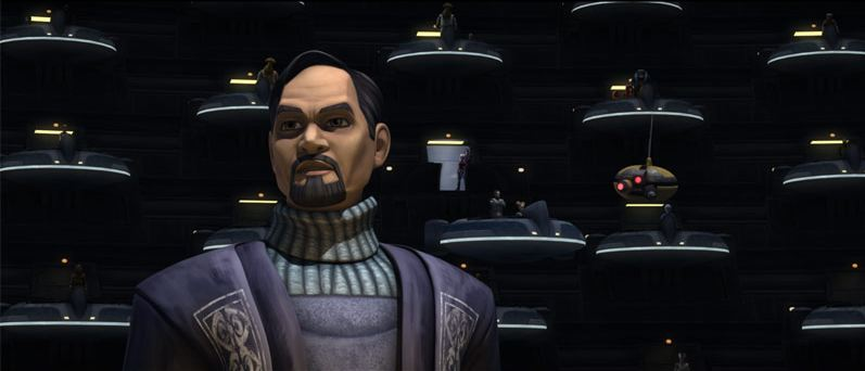 Senator Organa The Clone Wars
