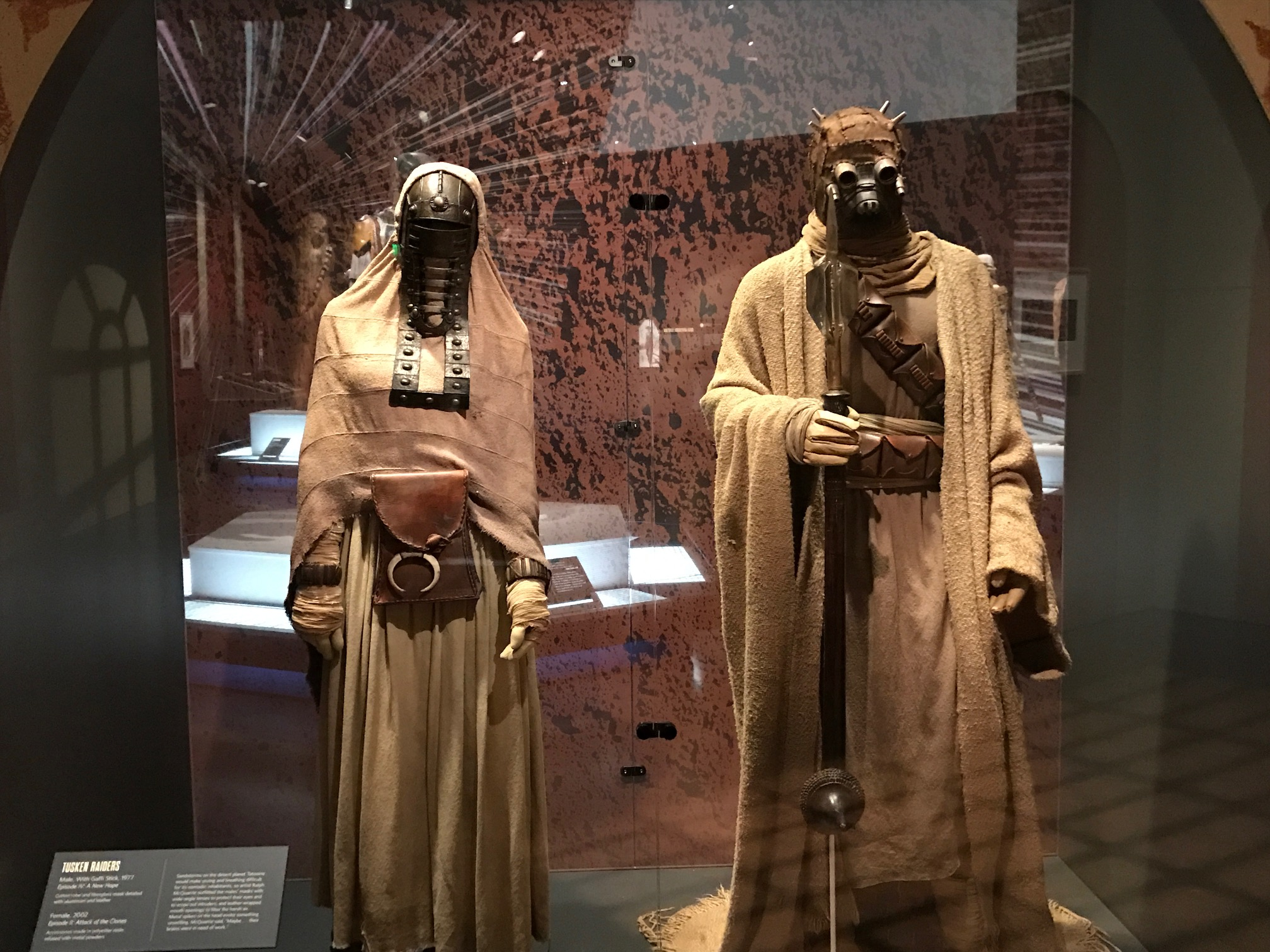 Male and Female Tusken Raiders
