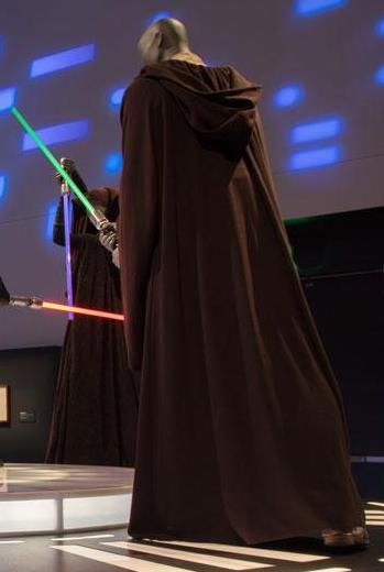 Qui-Gon Costume (back)