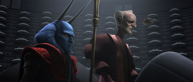 Mas Amedda The Clone Wars