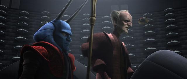 Mas Amedda The Clone Wars