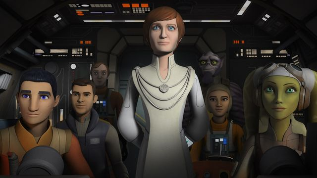 Mon Mothma Star Wars Rebels