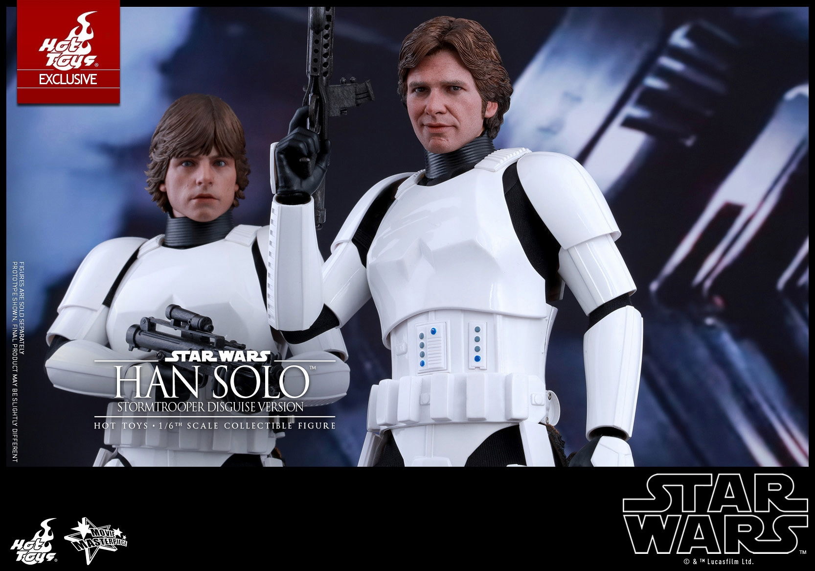 New Han Solo Stormtrooper Disguise 1 6th Scale Figure