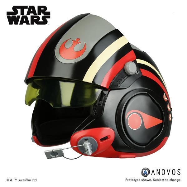 New Force Awakens Poe Dameron X Wing Pilot Helmet