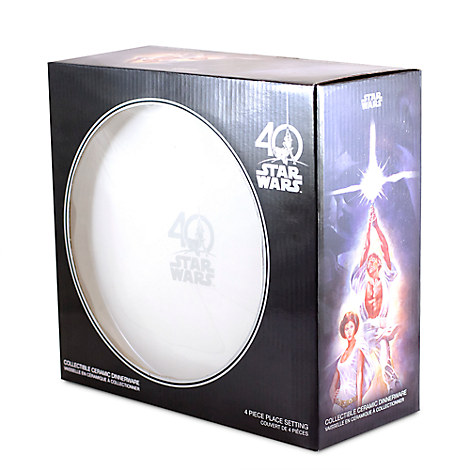 New Star Wars Limited Edition Dinnerware Set available on DisneyStore.com