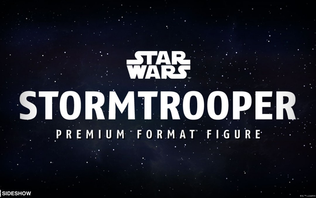 New Premium Format Figure of an Imperial Stormtrooper coming soon!