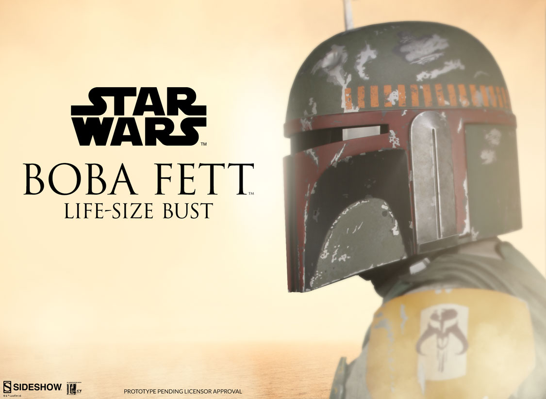 SW Boba Fett LS Bust Preview Photo