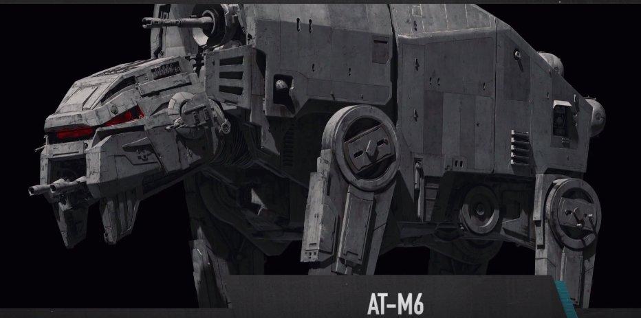 TLJ AT-M6 Walker 1